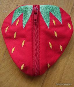 porte monnaie ith fraise