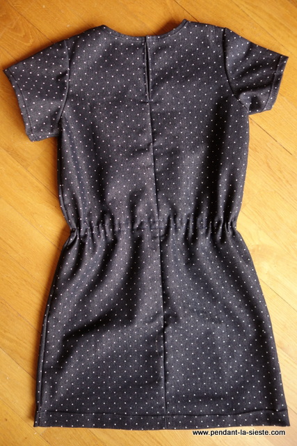 NIPE robe taille coulissée